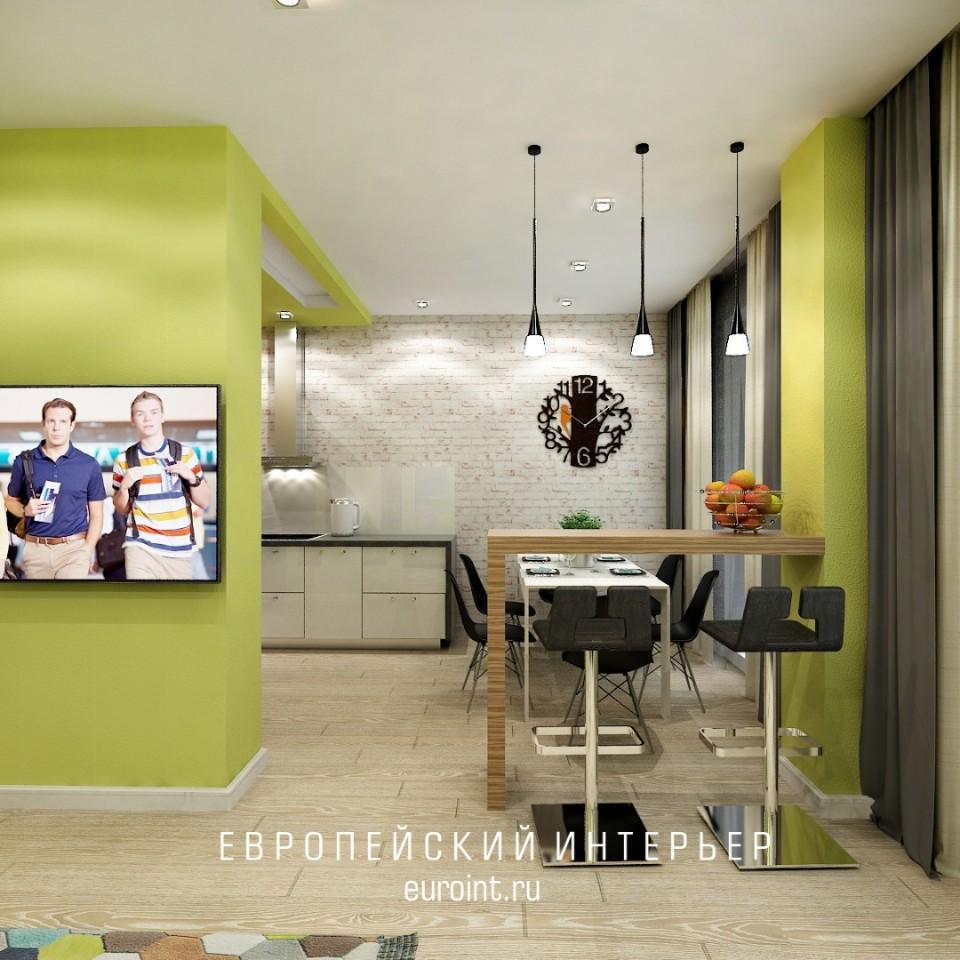 "квартира-студия жк ""Александровский"" 55 м2"