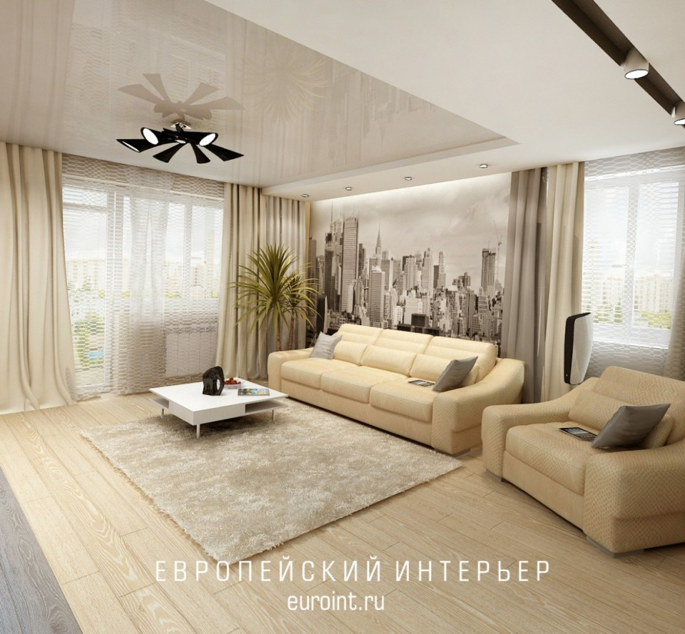 "2-х комнатная квартира жк""Александровский"" 96м2"