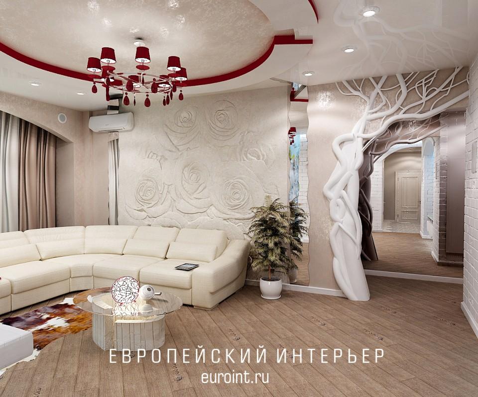 """3-х комнатная квартира жк""""Кировский"""" 120м2"""