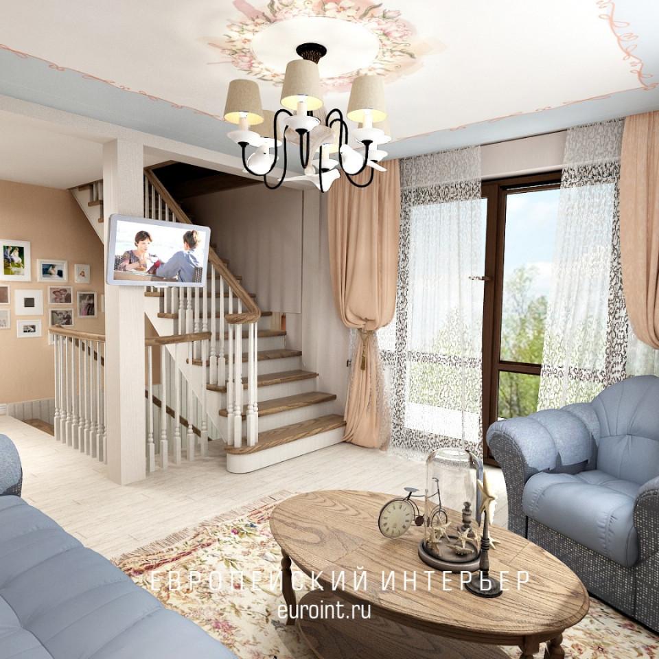 трехэтажный загородный дом для отдыха 250м2