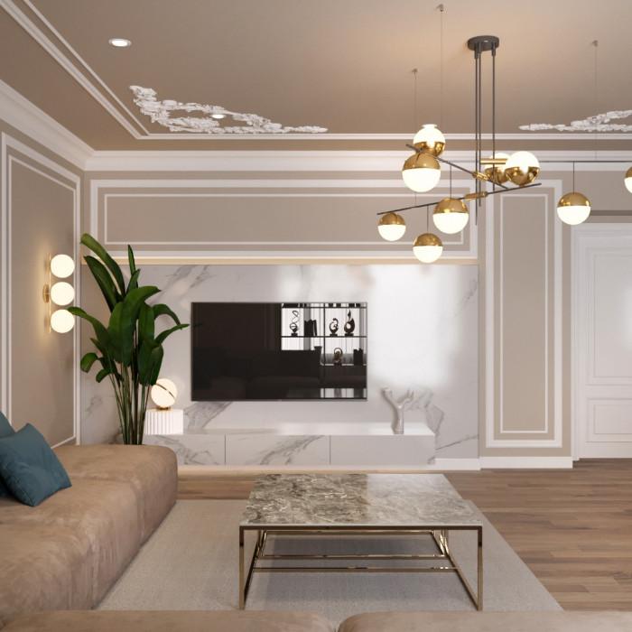 3-х комнатная квартира 120м2 ЖК Дом на Беговой