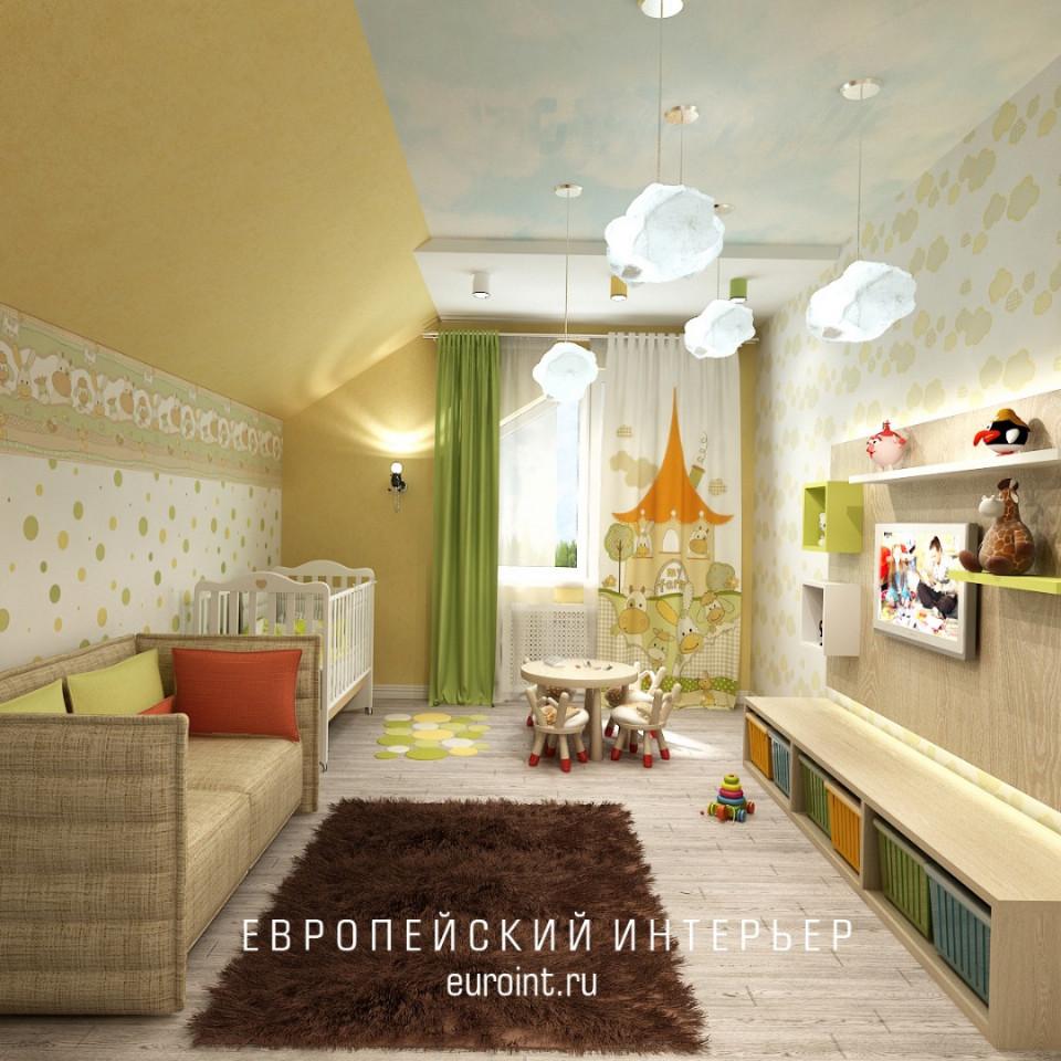 """двухэтажный загородный дом """"Малинки Village"""" 150м2"""